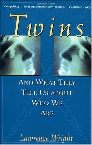 Twins And What They Tell Us about Who We Are 1st 1997 9780471296447 Front Cover