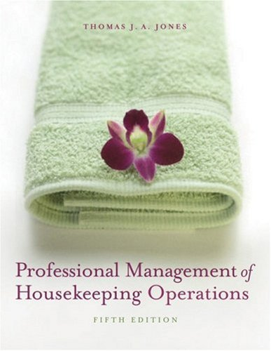 Professional Management of Housekeeping Operations  5th 2008 (Revised) edition cover