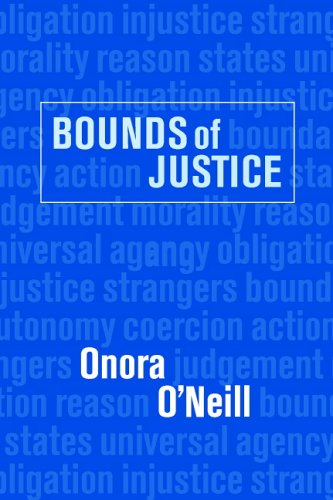 Bounds of Justice   2000 9780521447447 Front Cover