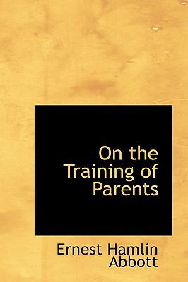 On the Training of Parents  2008 edition cover