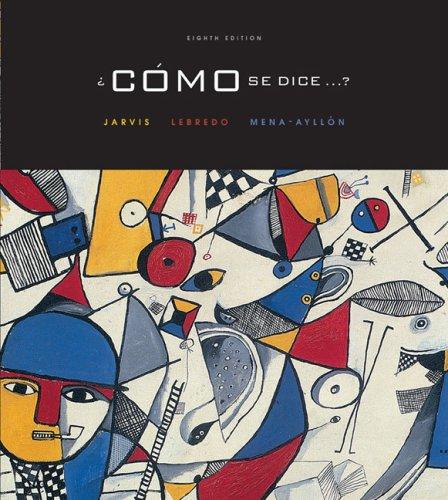 Como Se Dice?  8th 2005 edition cover