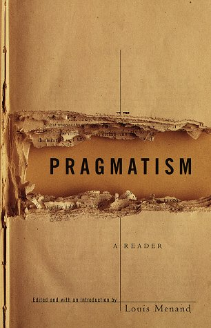Pragmatism A Reader  1998 edition cover