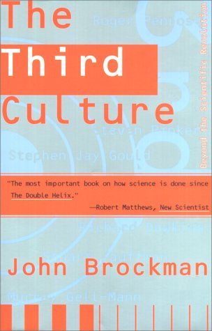 Third Culture Beyond the Scientific Revolution  1996 edition cover