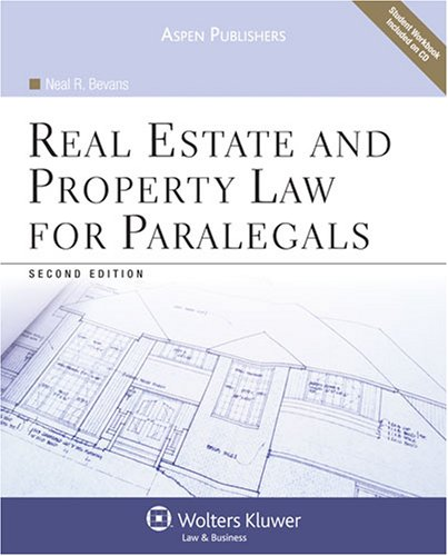 Real Estate and Property Law for Paralegals  2nd 2009 (Revised) edition cover