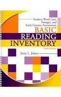 Basic Reading Inventory Student Booklet : Student Word Lists, Passages, and Early Literacy Assessments 10th 2010 (Revised) edition cover