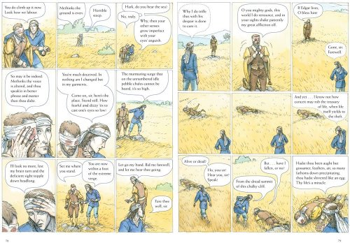 King Lear Graphic Novel Adaptation of William Shakespeare's Classic  2009 edition cover