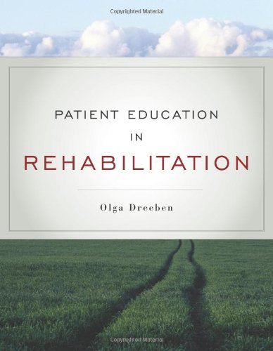 Patient Education in Rehabilitation   2010 edition cover