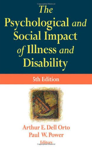 Psychological and Social Impact of Illness and Disability  5th 2007 edition cover