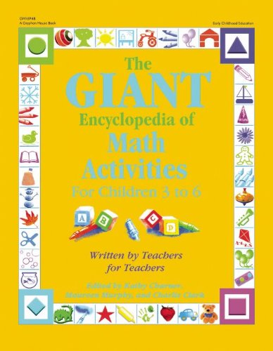 Math Activities for Children 3 to 6   2007 edition cover