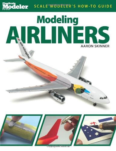 Modeling Airliners:   2012 edition cover