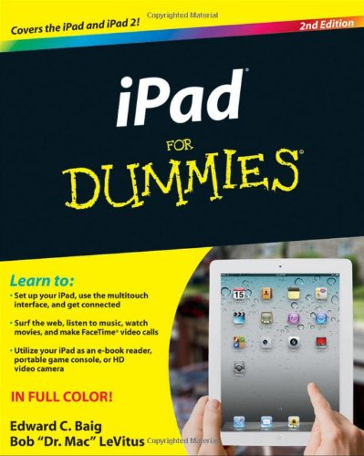 Ipad for Dummies  2nd 2011 9781118024447 Front Cover