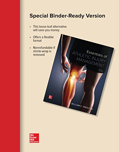 ESSEN.OF ATHLETIC INJURY MGMT (LOOSE)   N/A 9781259691447 Front Cover