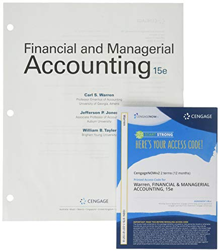FINANCIAL+MANAGERIAL...(LL)-W/ACCESS    N/A 9781337955447 Front Cover
