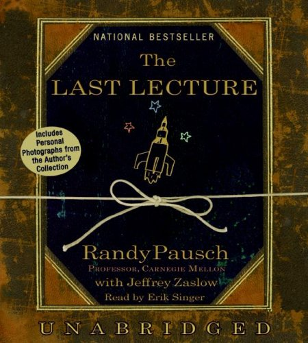 The Last Lecture:  2008 edition cover
