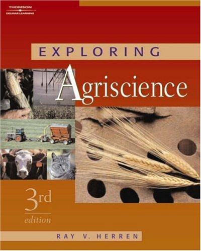 Exploring Agriscience  3rd 2006 (Revised) 9781401896447 Front Cover