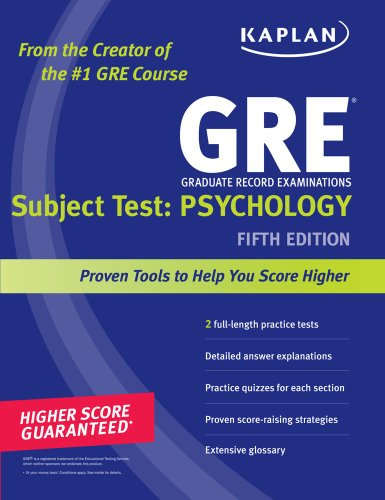 GRE Psychology 5th edition cover