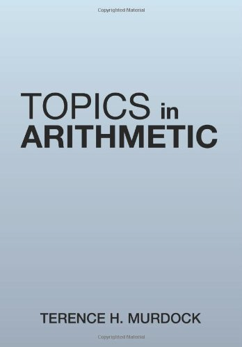 Topics in Arithmetic   2013 9781483670447 Front Cover