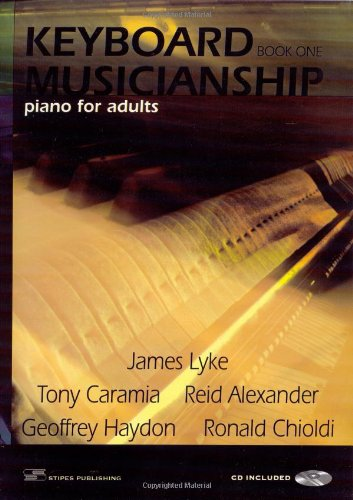Keyboard Musicianship Piano Piano for Adults Book One  2009 edition cover
