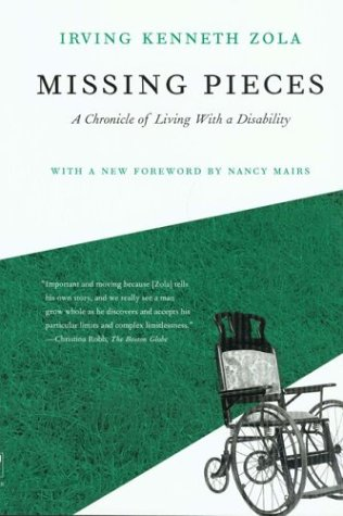 Missing Pieces A Chronicle of Living with a Disability N/A 9781592132447 Front Cover