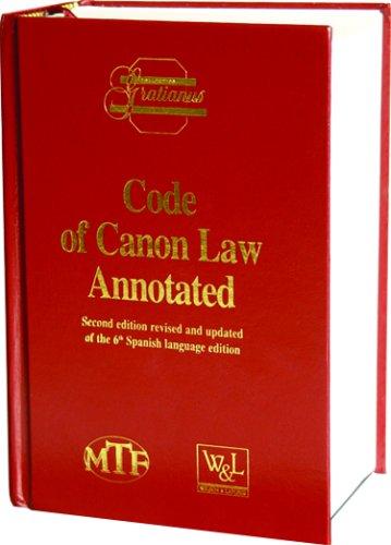 Code of Canon Law Prepared under the Responsibility of the Instituto Martin de Azpilcueta 2nd 2003 edition cover