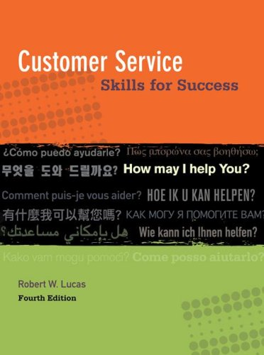 Customer Service Skills for Success  4th 2009 edition cover