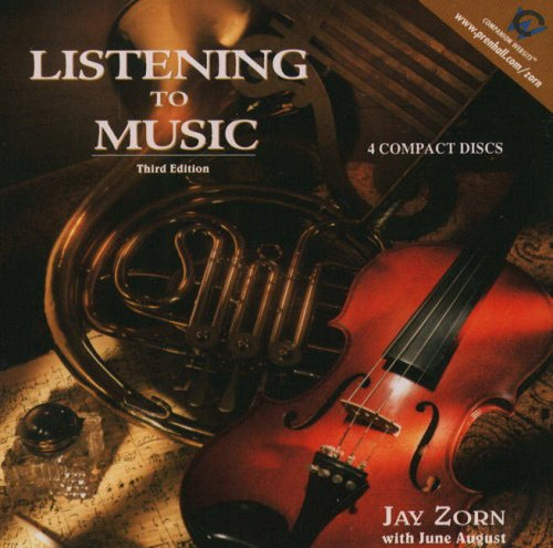 Listening to Music 3rd 2000 edition cover
