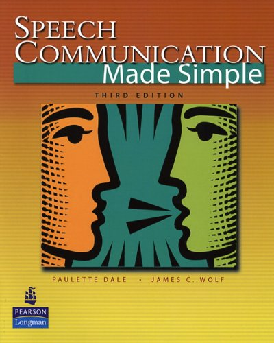 Speech Communication Made Simple  3rd 2006 edition cover