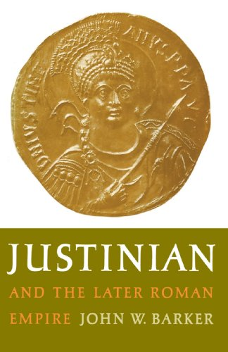 Justinian and the Later Roman Empire  Reprint edition cover