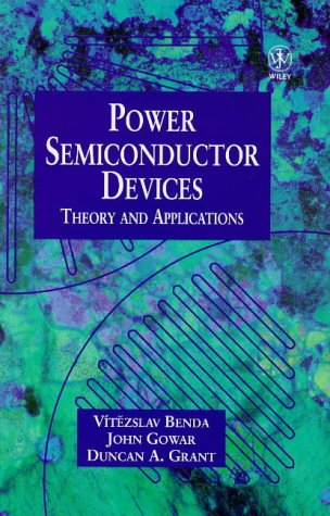 Power Semiconductor Devices Theory and Applications  1999 9780471976448 Front Cover