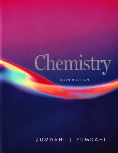 Chemistry  7th 2007 edition cover