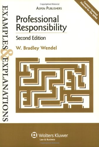Professional Responsibility  2nd 2007 (Student Manual, Study Guide, etc.) edition cover