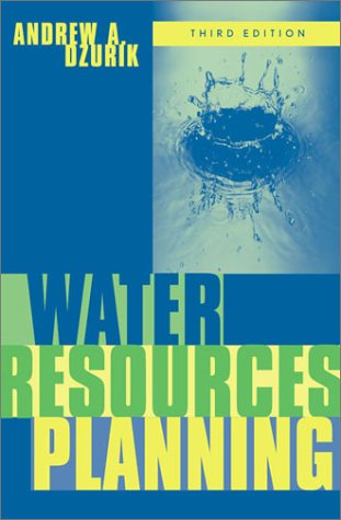 Water Resources Planning  3rd 2002 (Revised) edition cover