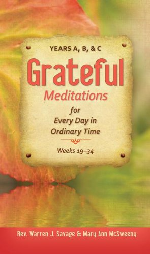 Grateful: Meditations for Every Day in Ordinary Time, Weeks 23 - 34  2013 edition cover