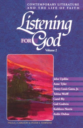 Listening for God Contemporary Literature and the Life of Faith N/A 9780806628448 Front Cover