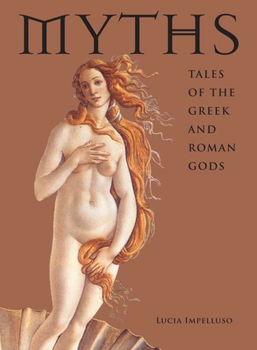Myths Tales of the Greek and Roman Gods  2008 9780810971448 Front Cover