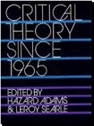 Critical Theory since 1965  N/A edition cover