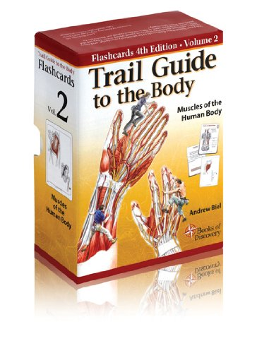 Trail Guide to the Body Flashcards Vol 2 Muscles of the Body (V2)  N/A edition cover