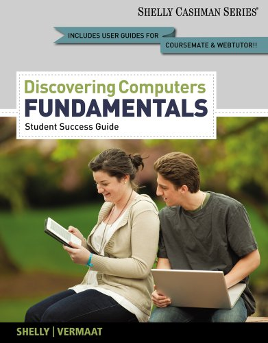 Discovering Computers, Fundamentals   2013 edition cover