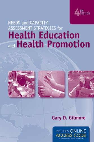 Needs and Capacity Assessment Strategies for Health Education and Health Promotion  4th 2012 edition cover