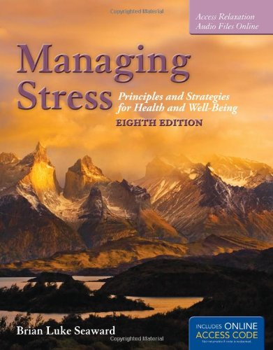 MANAGING STRESS-TEXT                    N/A edition cover