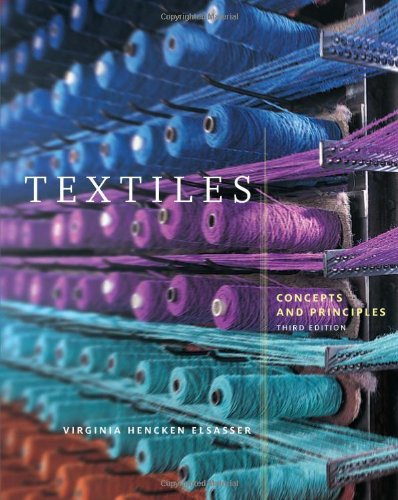 Textiles Concepts and Principles 3rd 2011 edition cover