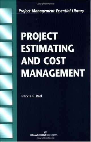 Project Estimating and Cost Management   2002 edition cover
