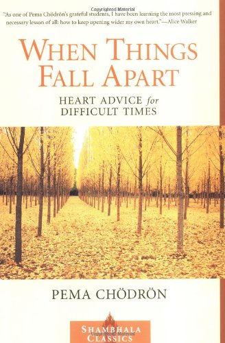 When Things Fall Apart Heart Advice for Difficult Times  1999 9781570623448 Front Cover
