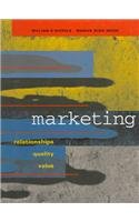 Marketing Relationships, Quality, and Value  1997 9781572591448 Front Cover