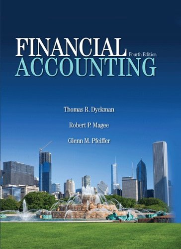 FINANCIAL ACCOUNTING 4th edition cover