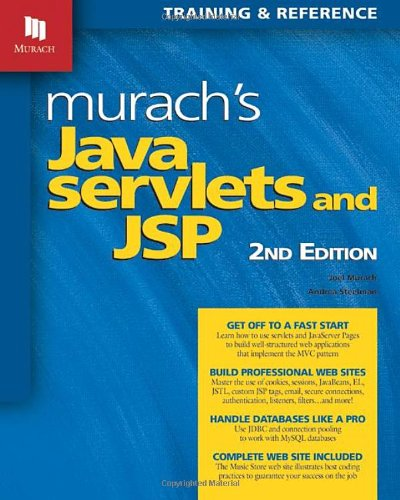 Murach's Java Servlets and JSP  2nd 2008 edition cover