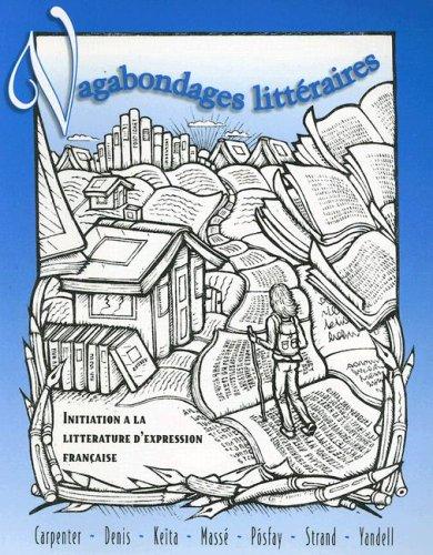 Vagabondages Litteraires Initiation a la Litterature D'Expression Francaise  1996 9780070114449 Front Cover