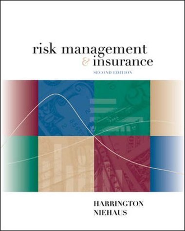 Risk Management and Insurance N/A edition cover