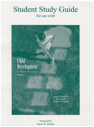 CHILD DEVELOPMENT-STUDENT STUD 5th 2004 edition cover