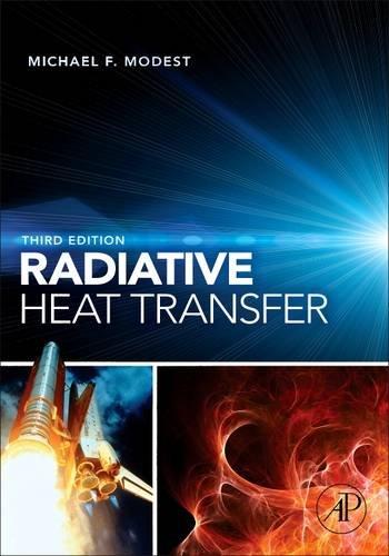 Radiative Heat Transfer  3rd 2013 edition cover